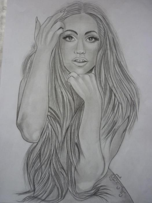 Lady Gaga par Norbi
